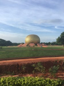 The Matrimandir, Auroville