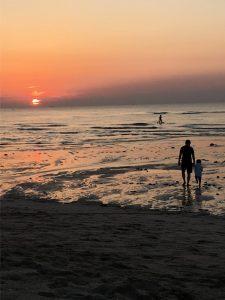Sunset at Gwakji Beach