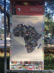 African influence at Auroville