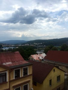 View from my window in Decin