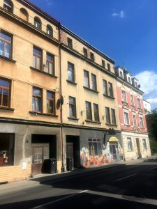 Peter's building in Decin