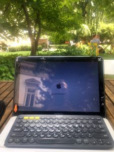 Working from the K10 garden