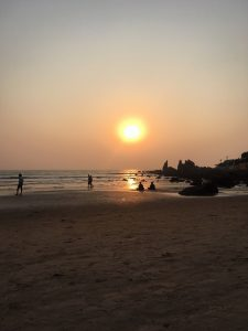 Sunset at Arambol