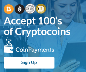 Accept cryptocurrencies on your website with CoinPayments