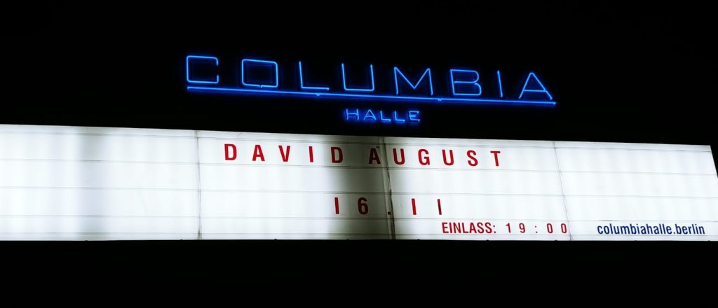 David August Live in Berlin