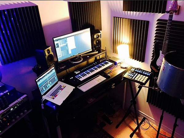 Evren Ozdemir and SOAP's home studio