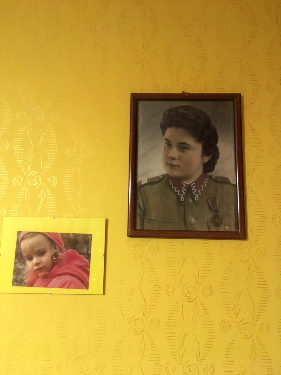 Magda's loving grandmother