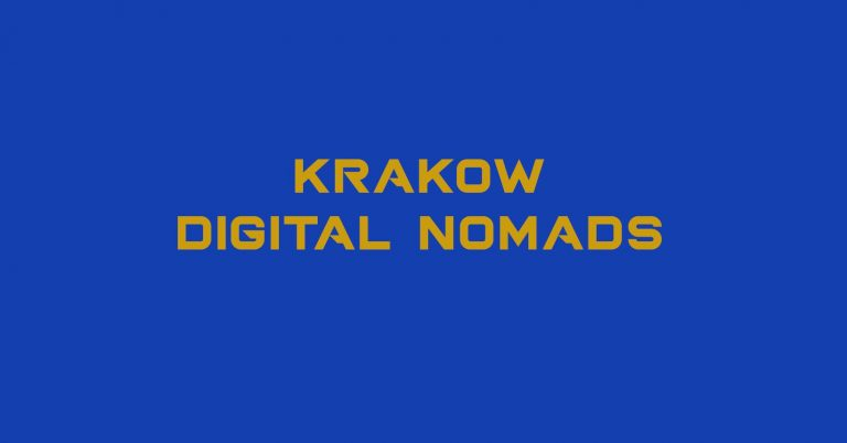 Krakow Digital Nomad group