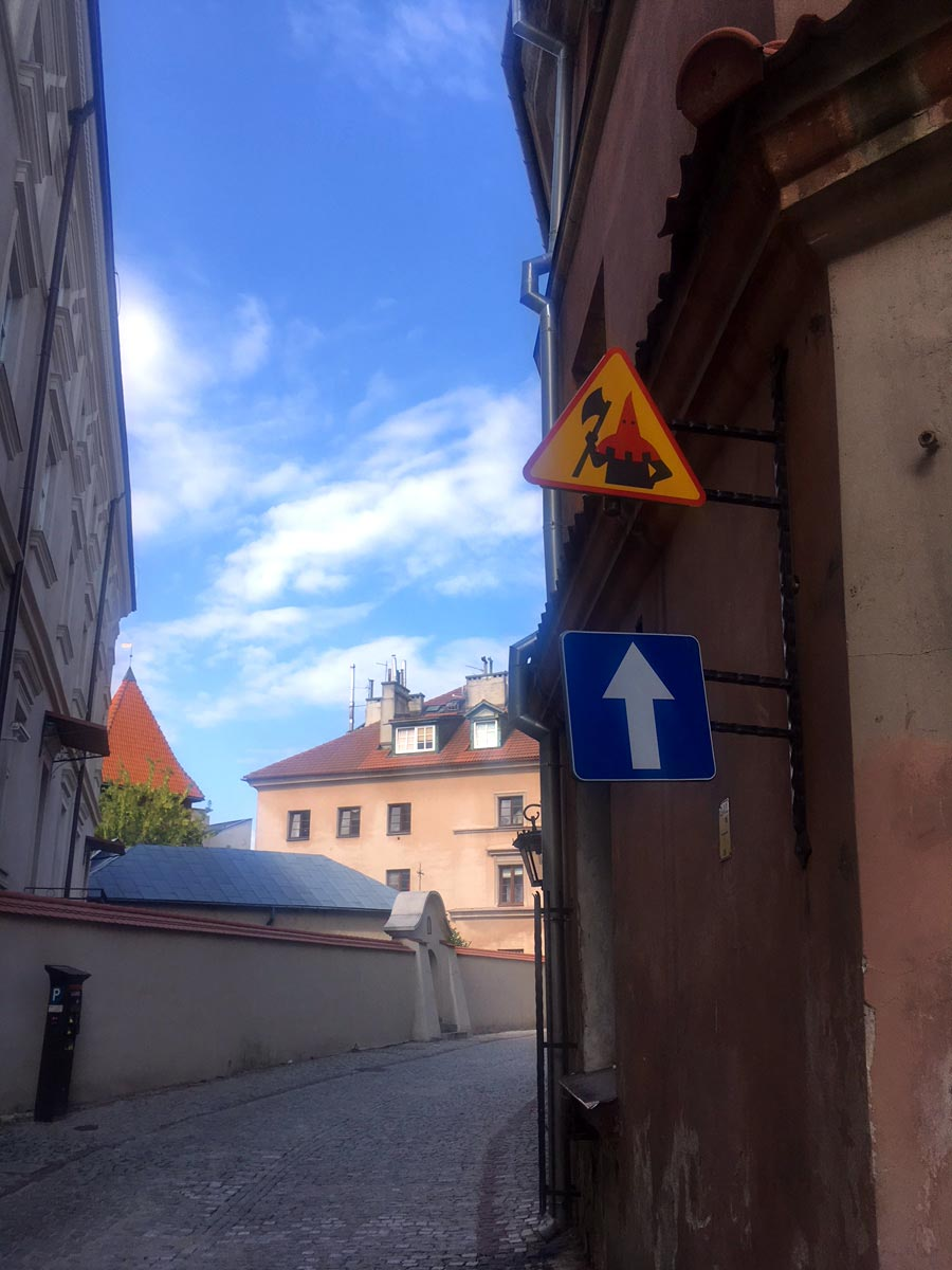 Caution: Lublin executioner ahead