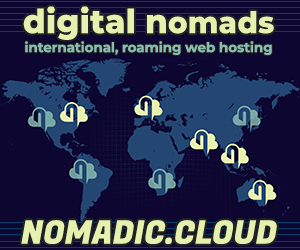 Nomadic.Cloud - Web hosting for Digital Nomads
