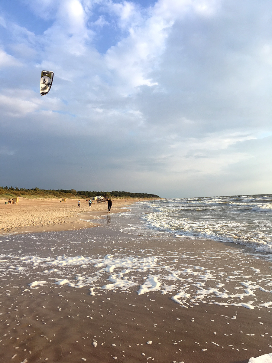 Weekend near Palanga beach, Lithuania