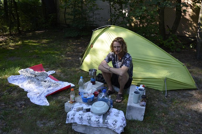 Camping in Eastern Poland