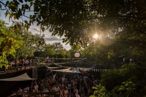 Harmony & Nite open air techno party in Prague