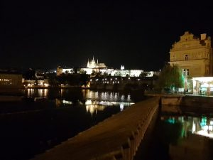 Prague riverside