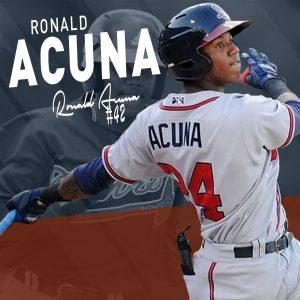 Ronald Acuna Number 42