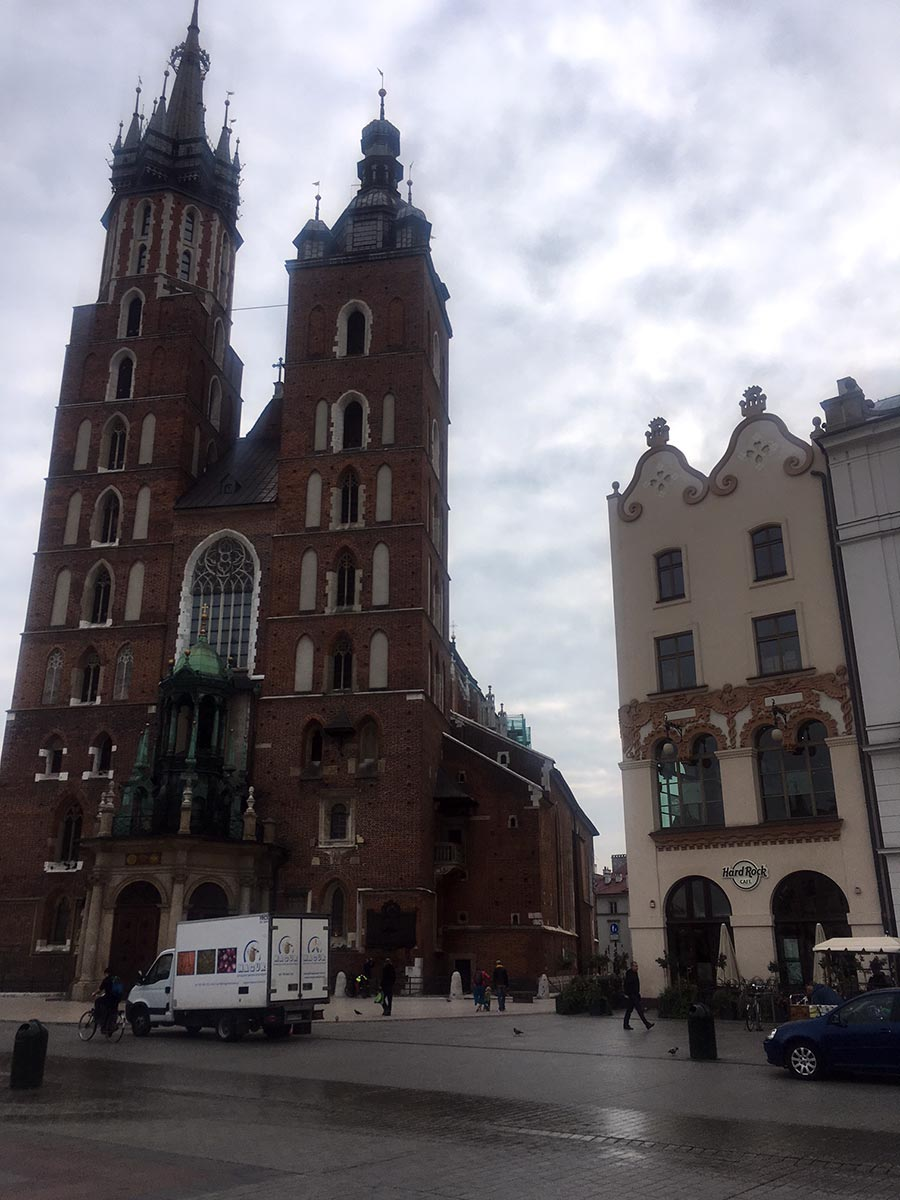 Old Town of Krakow, Poland