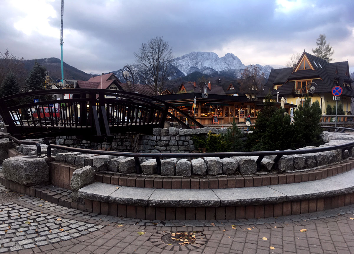 In the centre of Zakopane